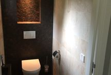 Donker toilet