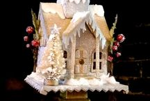 Christmas: Objects, Ornaments, Little Houses, Dolls and so many gorgeous things