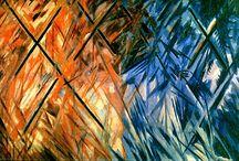 Suprematisme ~ Mikhail Larionov