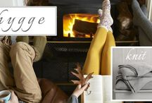 Hygge / Hygge. Comfort and Happiness.