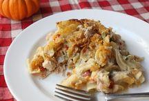 Food ~ Casseroles & Skillet Meals