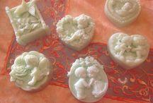 I love soap / questi sono i miei saponi..........<3