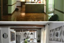 Before & After / We want to empower our users by sharing how creativity can transform a space in your home