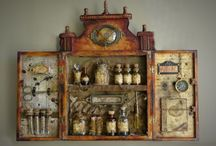 Cabinets of curiosities, oddities and kits