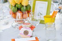 Лето. Оранжевая свадьба.