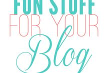 Tricks and tips for a blog