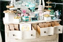 Just Desserts / Beautiful display buffet tables and inspirations for wedding cakes and fine event dessert spreads