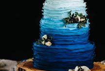 OMBRÉ Wedding Trends / Ombré wedding inspiration for you! From cakes to bridesmaid dresses!