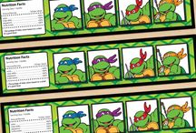 ninja turtles birthday ideas