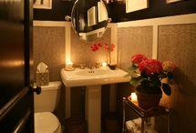 Interiors bathroom design  / Design concept