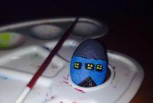 Piatra pictata casa
