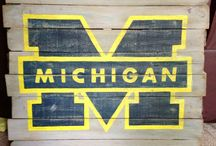 Michigan / My favorite school!! / by Holly Atherton Zirkelbach