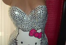 Hello kitty clothes / by Kitty White