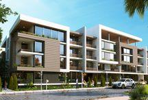 секционные жилые дома малой этажности