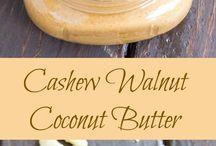Vegan Nut Butters / Whole Food, Vegan, Paleo, Vegetarian, Healthy Eating