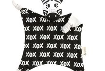 Baby Comforters / Organic baby comforters and baby comfort blankets by Kippins at Crab and The Fox, UK