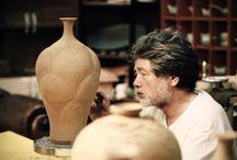 ceramics (carved)
