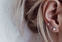 Earrings-piercings