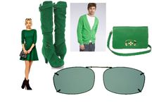 St. Patrick's Day / Solar Shield and Haven 'Fits over' sunglasses and clipons fit over your eyeglasses and they are perfect for your daytime, outdoor St. Pat's celebrations.