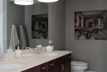 Bathroom Swag