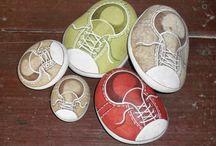 Coole Schuhe stein