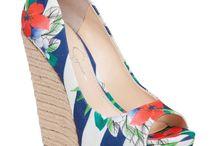 Wedges heels