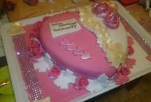 Újdonságaim :-) legújabb műveim :-) / torta