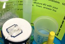 Science: Matter and Solutions / A collection of ideas for teaching a science unit on matter and solutions.