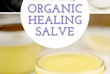 Natural  healing salve