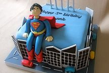 Superman cake / by Fancy Fondant Cakes by Emily Lindley