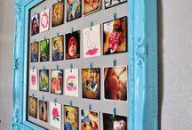 Family wall display