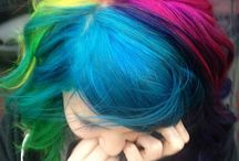 Alternative Hair Inspiration / Bright, colourful and beautiful hair colour creations to inspire... Check out our range of Crazy Colour, Manic Panic, and Direction hair dyes here!   http://www.katesclothing.co.uk/Hair-Dye-and-Accessories-s/3663.htm