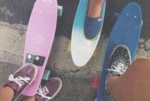Skateboard, longboard a pennyboard