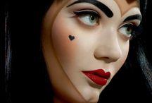 horor make-up