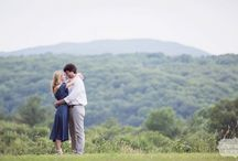 Hudson Valley Engagement Photos - Hyde Park, NY / Here are some of our favorite candid and natural photos from this Hudson Valley engagement photo session in Hyde Park, NY. Love this girl's 1970's bohemian outfit choices for the shoot!