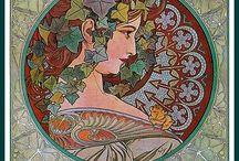 for the love of Alphonse Mucha!!! / by Jane DeWitt