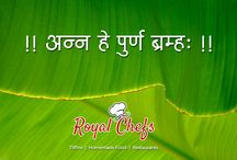 Royal menu on Royal chefs. / 'Royal Chefs' is an app, which will act as 'Medium' between Chefs and Foodies. Enjoy your food everyday with 'Royal Chefs'.
