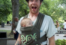 BabyWearing / Wearing your baby is good for the whole family.