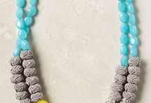 05 - Colliers - Anthropologie / by Chocolate & Wedding