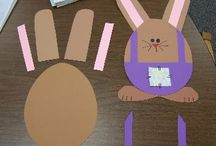 Lente (Pasen) / Crafts kids spring easter