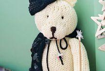 Teddy Bear Knitting Patterns