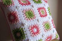 croche capa almofadas