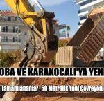 Alanya Oba ve Karakocalı'ya Yeni Yollar