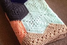 Altıgen motifli battaniye