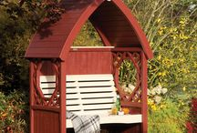 Beautiful Arbours, Arches and Pergolas / A collection of our favourite garden arbours