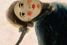 masque en peinture
