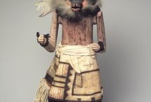 """Kachina / The central theme of the kachina [religion] is the presence of life in all objects that fill the universe. Everything has an essence or a life force, and humans must interact with these or fail to survive. (Wright Barton (2008). """"Hopi Kachinas: A Life Force"""")"""
