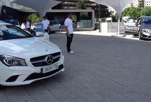 Road Show Castellana / Exposición de los principales modelos de Mercedes-Benz en el centro de negocios de Madrid