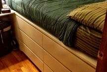 Under bed storage - ikea malm drawers