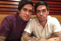 John Pearce and Lenny Pearce / John Pearce from the Justice Crew